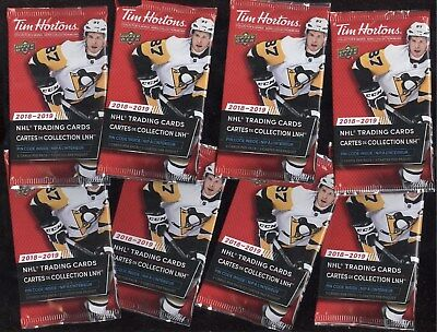 2018-19 Tim Hortons Game Day Clear Cut Showcase Top Line Etchings Gold See List