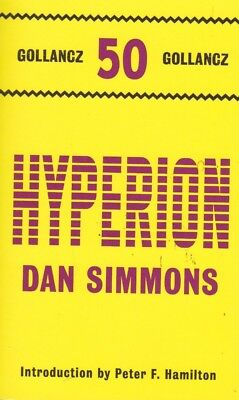 Dan Simmons: Hyperion, New Paperback Book (A Format)