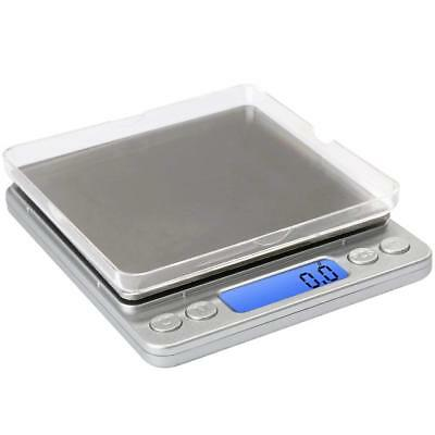 0.1Gram Precision Multifunction Kitchen and Food Stainless Steel Scale New