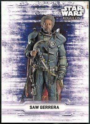 Star Wars Rogue One Series 2 Character Sticker Chase Card CS-15 Baze Malbus