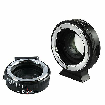 Viltrox NF-M43X 0.71x Nikon F lens to Micro Four Thirds camera mount adapter