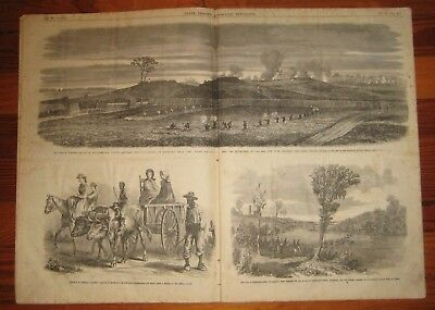 1863 Frank Leslie's Illustrated Newspaper, Battle of Rappahannock Station