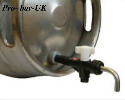 "Cask Ale Keg Tap, Turn Down Spout, Brewery Hop Filter  3/4"" BSP BEER COOLER BAR"