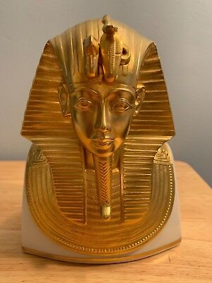 LENOX THE GOLD MASK OF TUTANKHAMUN KING TUT 1978 Metropolitan Museum