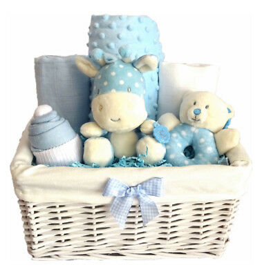 Luxury Baby Boy Gift Basket, Gift for Baby boy, Baby Shower Gift for Boy
