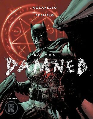 BATMAN DAMNED #1 (OF 3) B Jim Lee Cover   DC Black Label Sold Out!!!!