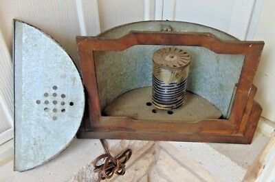 Vintage Cast Iron Deco Motion Lamp, For Parts Or Restoration
