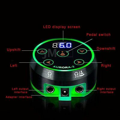 Professional LCD Touch Screen Tattoo Power Supply Machines Permanent Makeup WN