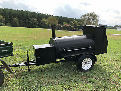 smoker grill trailer -A1 COMPETITION SMOKER