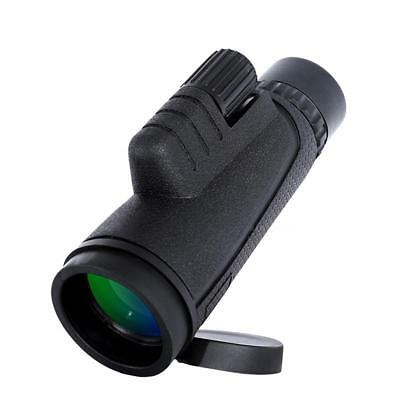 High Power 10 x 42 Monocular Magnifying Telescope Night Vision Outdoor Hiking US