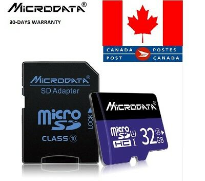 MicroData memory card Micro SD card class 10 TF card Microsd  32GB