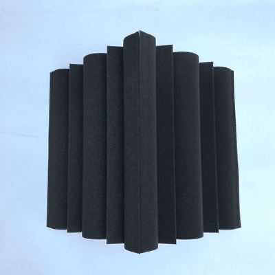 4X(4X Corner Bass Trap Acoustic Panel Studio Sound Absorption Foam 12*12*24 Z9Q5