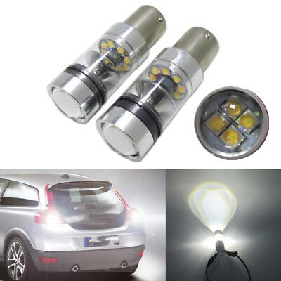Cree xbd 100w 1156 s25 p21w ba15s led backup light car reverse bulb lamp E&F