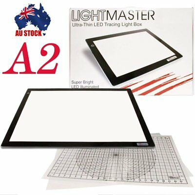 A2 LED Tracing Light Box Stencil Drawing Board Pattern Lightbox Pad Artist HOT A