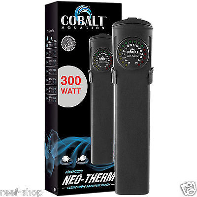 Cobalt Neo Therm 300 Watt Aquarium Heater LED Display Fast Free USA Shipping