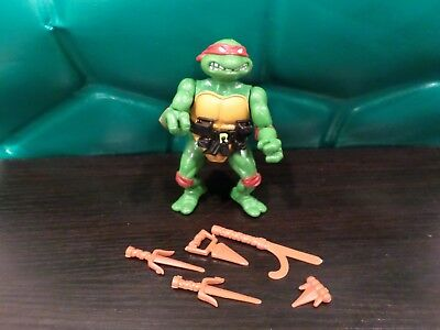Tmnt Raphael Hard Head 100% Complete Teenage Mutant Ninja Turtles