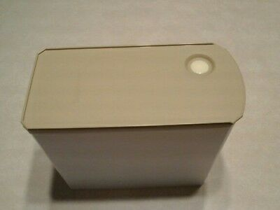 TUPPERWARE Shelf smart modular slim rectangle #3 9 1/2 cup container w/ lid