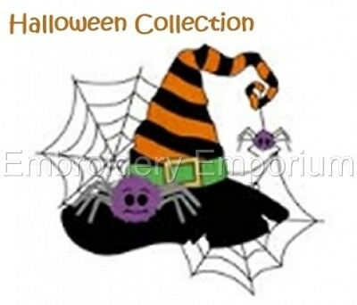 Halloween Collection - Machine Embroidery Designs On Cd