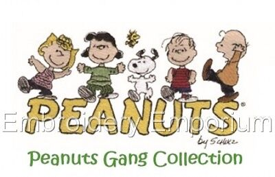Peanuts Gang Collection - Machine Embroidery Designs On Cd