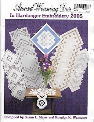 VGUC award winning designs in hardanger embroidery 2005 instructional patterns