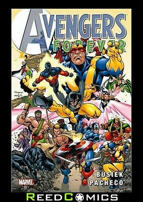 AVENGERS FOREVER GRAPHIC NOVEL (328 Pages) New Paperback Collects Issues #1-12