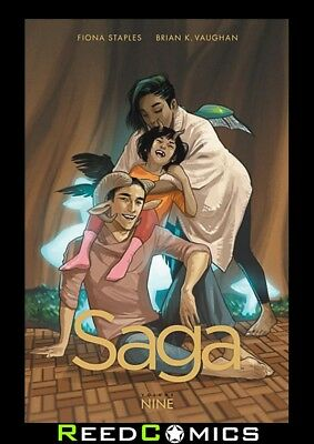 SAGA VOLUME 9 GRAPHIC NOVEL New Paperback Collects Issues #49-54