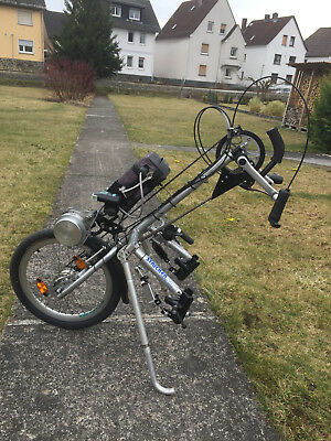 Stricker Hand-Bike City 7 mit Magic Power Motor Antrieb