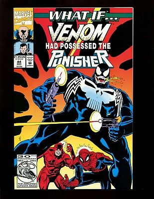 What If? #44 (2nd Series) NM- Venom Possessed Punisher Spider-Man Daredevil