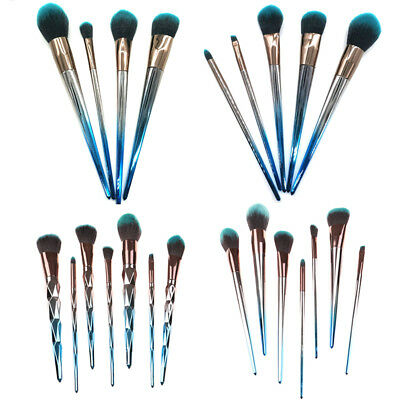Diamond Cosmetic Powder Eyeshadow Makeup Brush Set Eyeliner Foundation Tool MC