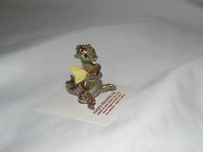 Hagen Renaker Green Dragon Ceramic Miniature 8921 FREE SHIPPING NEW