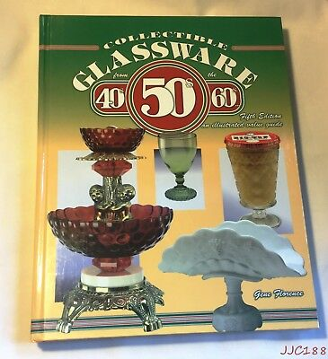 2000 HC Collectibles Glassware  40's-60's value guide Gene Florence