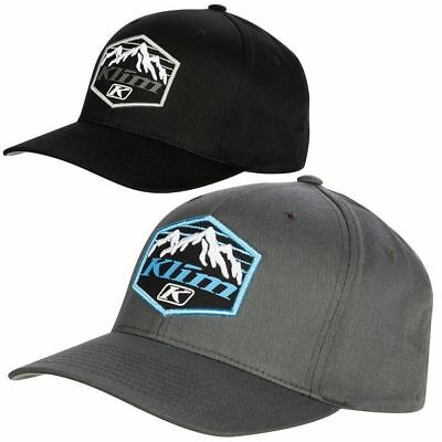 2019 KLIM GLACIER FITTED CAP HAT - Large  /  XL - Black or Gray - BRAND NEW