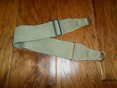 U.s Military Wwii Khaki Adjustable Utility Strap Original Surplus