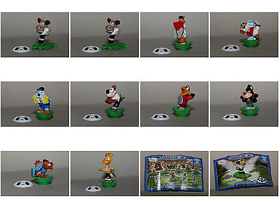 10 Figuren aus Ü-Ei Serie Magic Sport 2 2008 m. allen BPZ