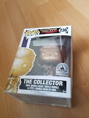 Funko Pop Marvel #236 Gold The Collector GOTG Breakout Disney Parks Exclusive