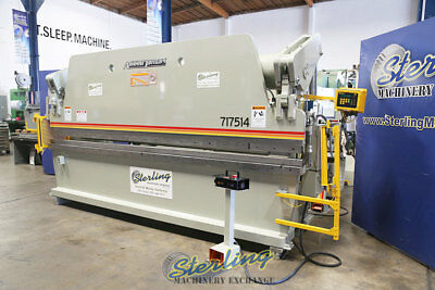 175 Ton x 14', Used Accurpress Hydraulic Press Brake With Light Curtains, Mdl. 7