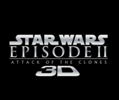 Star Wars™ ATTACK OF THE CLONES 3D Theatrical Rerelease 2012 EXCLUSIVE PROMO Lot