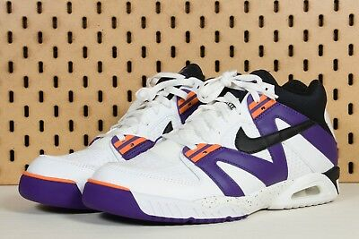 cheap for discount 79422 02fca NEW Nike Men s Air Tech Challenge 3 III Andre Agassi White Purple Size SZ 12