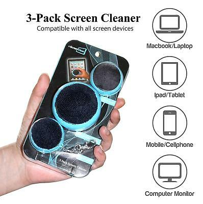 3 Pack Ball Touch Screen Cleaner, Cleaning Ipad / Iphone / PC / Laptop / Monitor
