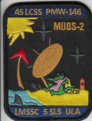 Last One    Official Atlas V Muos 2 Night Gator Crew Team Patch    Last One