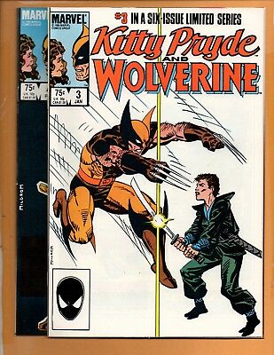 Kitty Pryde and Wolverine #3 & 4 High Grade NM to NM+