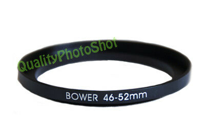 Step-up adapter ring 46-52mm 46mm-52mm Anodized Black