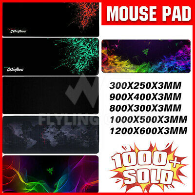 ALL SIZE Extra Large Gaming Mouse Pad Desk Mat Anti-slip Rubber Speed Mousepad