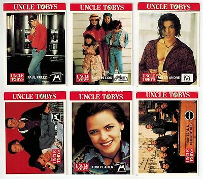 Uncle Tobys Pop Stars Collector Cards (6)
