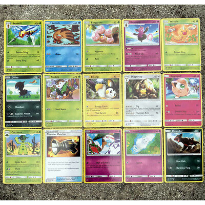 Pokemon TCG 107 PCS Cards Lot Rare Include Energy Cards Charizard GX MEGA Cards