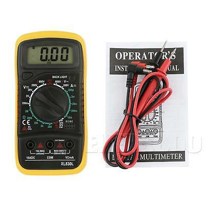 Digital Multimeter Back ground light, AC DC Voltmeter Ohmmeter Multi Tester 000