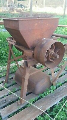 Vintage farm equipment grinding mill sunfeed