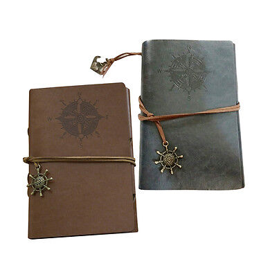 Retro Personality Notebooks Journal Notepads Ring Binder Diary Notebook T1FR