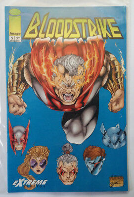 Bloodstrike Nr. 3 + 4 + 5 - Image Comics - 1993 - Rob Liefeld - Keith Giffen