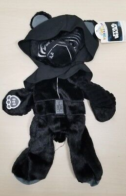 "Build-A-Bear 16"" Star Wars Force Awakens Kylo Ren Bear Plush - UNSTUFFED - NEW"